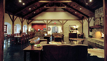Rich In History While Still Anchored Its Modern Home At The University Of Texas Austin Kappa Sigma Fraternity Lodge Is Built Local Stone That